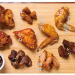 鶏肉全種類盛り
