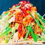 じろう桜 - 旨辛もつ焼き 鍋とは違って蒸し焼きで食べるので暑い沖縄にぴったりです