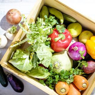 素材◎契約農家から直送の新鮮野菜♪