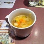 8628379 - ランチのスープです。