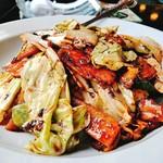 竹園 - 回鍋肉アップ