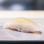 鮨 猪股 - ホシガレイ