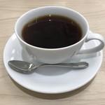 幸せのパンケーキ - ドリンクセットのコーヒー(200円)