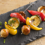 Bistro MARUTA - 季節野菜の串は旬な食材を