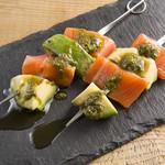 Bistro MARUTA - お肉だけじゃなく、海鮮も串で