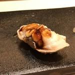 すし 伍水庵 - 煮蛤・・ツメの味わいがいいですね。
