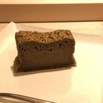 すし 伍水庵 - 奥様手作りの「ほうじ茶ケーキ」