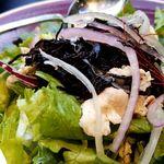 プレーツ - ひじきと豚しゃぶのサラダ