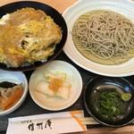 蕎麦 吉村 - ヒレカツ丼セット