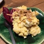蕎麦 AKEBONOYA - ポテトサラダ