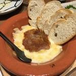 蕎麦 AKEBONOYA - ラクレットと蕎麦味噌