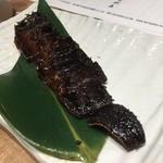 蕎麦 AKEBONOYA - 黒秋刀魚