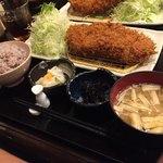 地蔵 - 料理写真:ロース定食