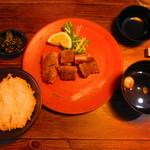 鉄板 ニシムラ - 『あおもりシャモロック地鶏ステーキSET』