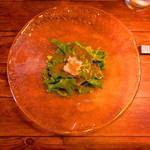 鉄板 ニシムラ - 『カニみそソースのサラダ』