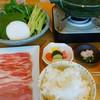 恋する豚研究所 - 料理写真:しゃぶしゃぶセット一式