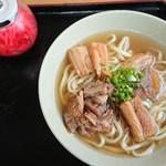 島人そば - 料理写真: