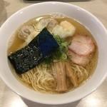 麺や 大和 - 「特製ワンタン麺(白だし)ハーフ」900円