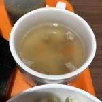 いきなりステーキ - ランチ スープ付き