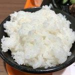 いきなりステーキ - ランチ  柔らかめのご飯