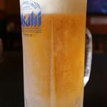 ウェルビー - キンキンに冷えた生ビール
