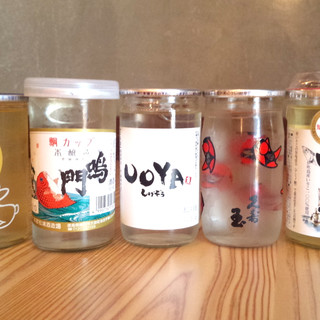 海鮮に合う日本酒16種ぐいっとワンカップで♪クラフトビールも