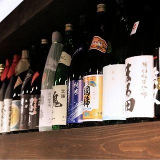 北海道の11酒造の地酒をご用意!