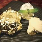 久留米やきとり いちころ - 金のフォンダンショコラ
