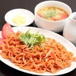 トマトつけ麺 普通盛り(200g)