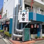 スタミナホルモン食堂 食楽 福島県庁西店 - 外観