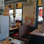 スタミナホルモン食堂 食楽 福島県庁西店 - 内観