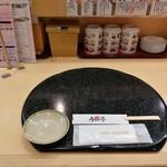 うまか亭 福島駅ピボット店 - カウンター席