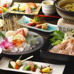 旬菜旬肴 きらり - H29.11.12月55ポセパコース