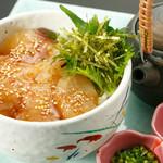 旬菜旬肴 きらり - 胡麻鯛のお茶漬け