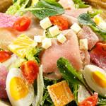 旬菜旬肴 きらり - 生ハムとチーズのイタリアンサラダ
