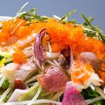 旬菜旬肴 きらり - 海鮮プチプチサラダ