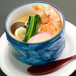 旬菜旬肴 きらり - 海老入り茶碗蒸し