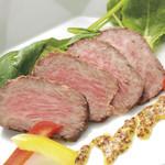 旬菜旬肴 きらり - 和牛のローストビーフ
