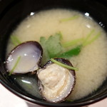 寿司栄 華やぎ - お椀