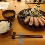 エペ クープ - 山形豚ロースかつ定食