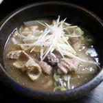 おでん 堀天 - デミグラス味のもつ煮 ¥380