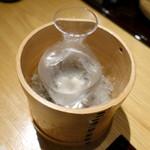 五万石本店 - 風の盆冷酒980円
