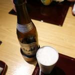 五万石本店 - 瓶ビール670円