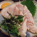 雑多居酒屋 しののめ - 鶏ささみの刺身