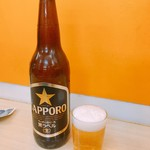 酒・立ち飲み 喜多屋 - サッポロ黒ラベル 大瓶  420円