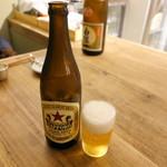葷酒山門 - 瓶ビール