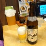 海幸山幸 越中茶屋 - 瓶ビール530円