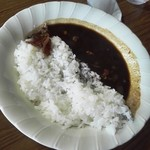 万定フルーツパーラー - カレーライス750円