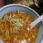 しお貫 - 味噌つけ麺2018.5.13