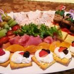 レストラン サカミティー - 前菜盛り合わせ